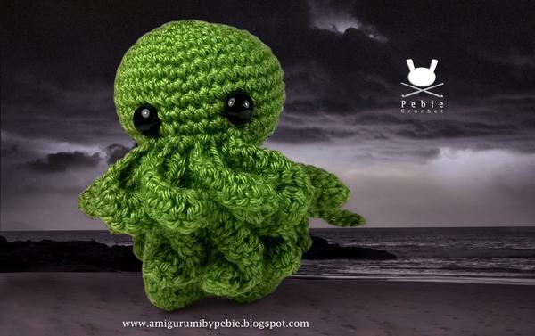 Pebie Crochet On Twitter Amigurumi Cthulhu Lovecraft Pattern By