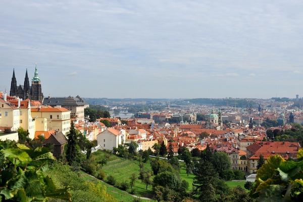 Stunning #Prague panorama from S