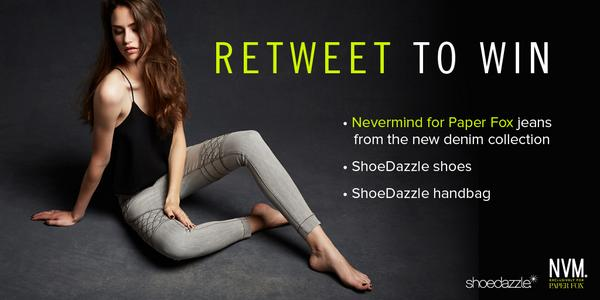 Fit to be styled: NEVERMIND denim by PaperFox! http://t.co/FmTd8mw83t Just retweet to enter! #JEANius http://t.co/XZCe6ExCup