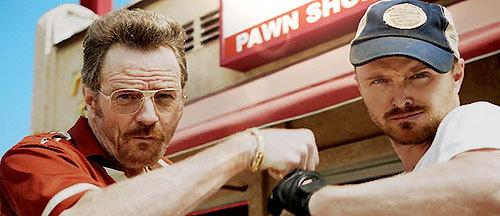 Bryan Cranston & Aaron Paul Find New Career As Pawn Shop Owners http://t.co/yGMWOf1akE http://t.co/Uep7QYEegh