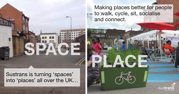 We are working to make places better to walk, cycle, sit, socialise & connect.  Read more: http://t.co/xwVTj9UQVI http://t.co/8qYfZ7hJ0t