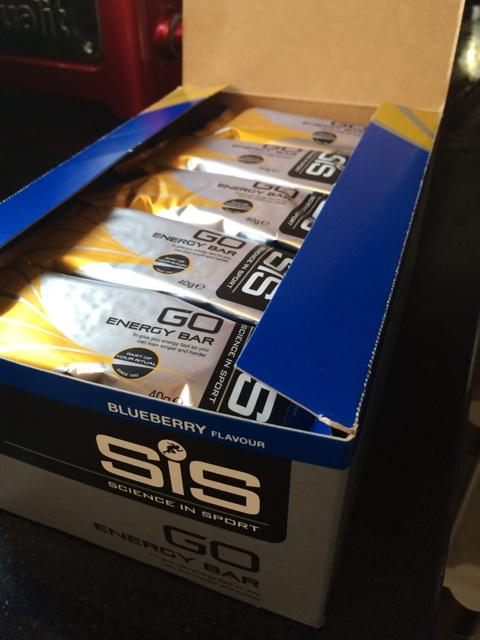 A few @ScienceinSport energy bars. Should keep me going for a few miles! http://t.co/yfxN6K2lJb