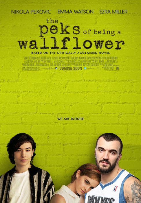 The Peks of Being a Wallflower #NBAMovies http://t.co/ow8mqqMMQT