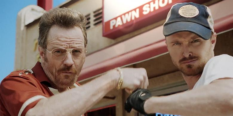 Bryan Cranston And Aaron Paul Reunite To Open A Pawn Shop http://t.co/IChGYmEVLq http://t.co/u4hlepQrwL