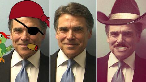 #RickPerry's smirky booking photo has gone viral. Check out the best of #RickPerryMugshot: http://t.co/Svdib148g8 http://t.co/zzl3ca4pTz