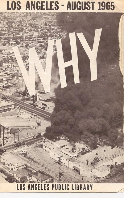 After the #WattsRiots in 1965, the @LAPublicLibrary compiled a 6-page #booklist. Here are several pages: http://t.co/WsKi8vFMNV