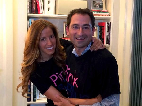 Mindy & Jon Gray: Thank you for your interview @pinkandbluedoc Lives will be saved. #BRCA @PennCancer @PennMedNews http://t.co/0fcvLxZFru