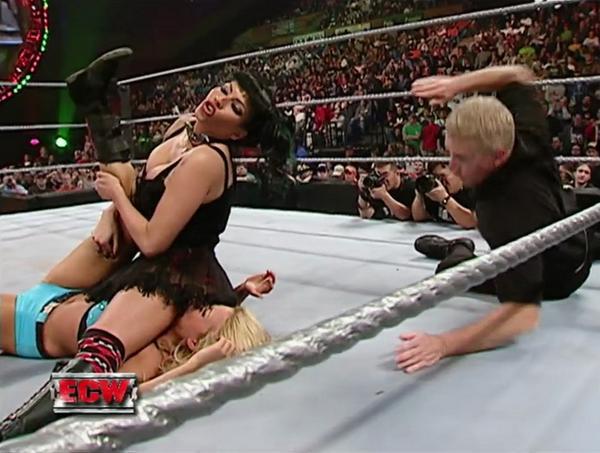 Sexy pin wrestling
