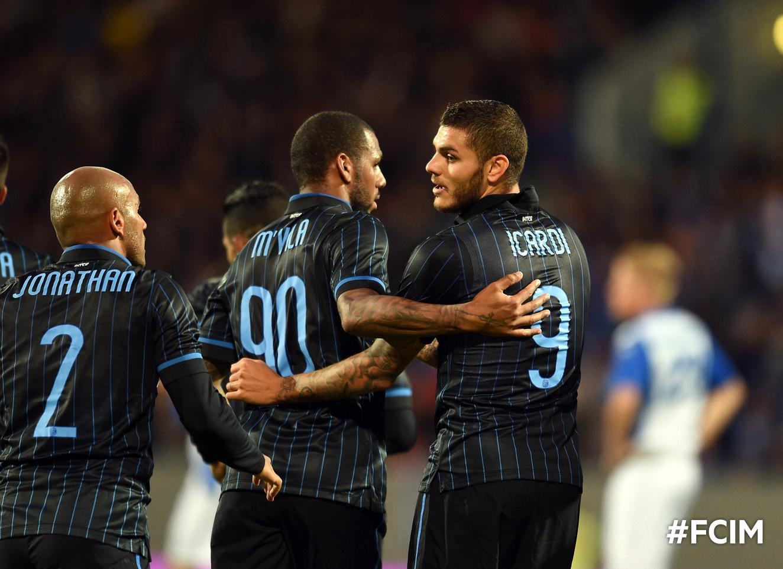 L'Inter festeggia a Reykjavik