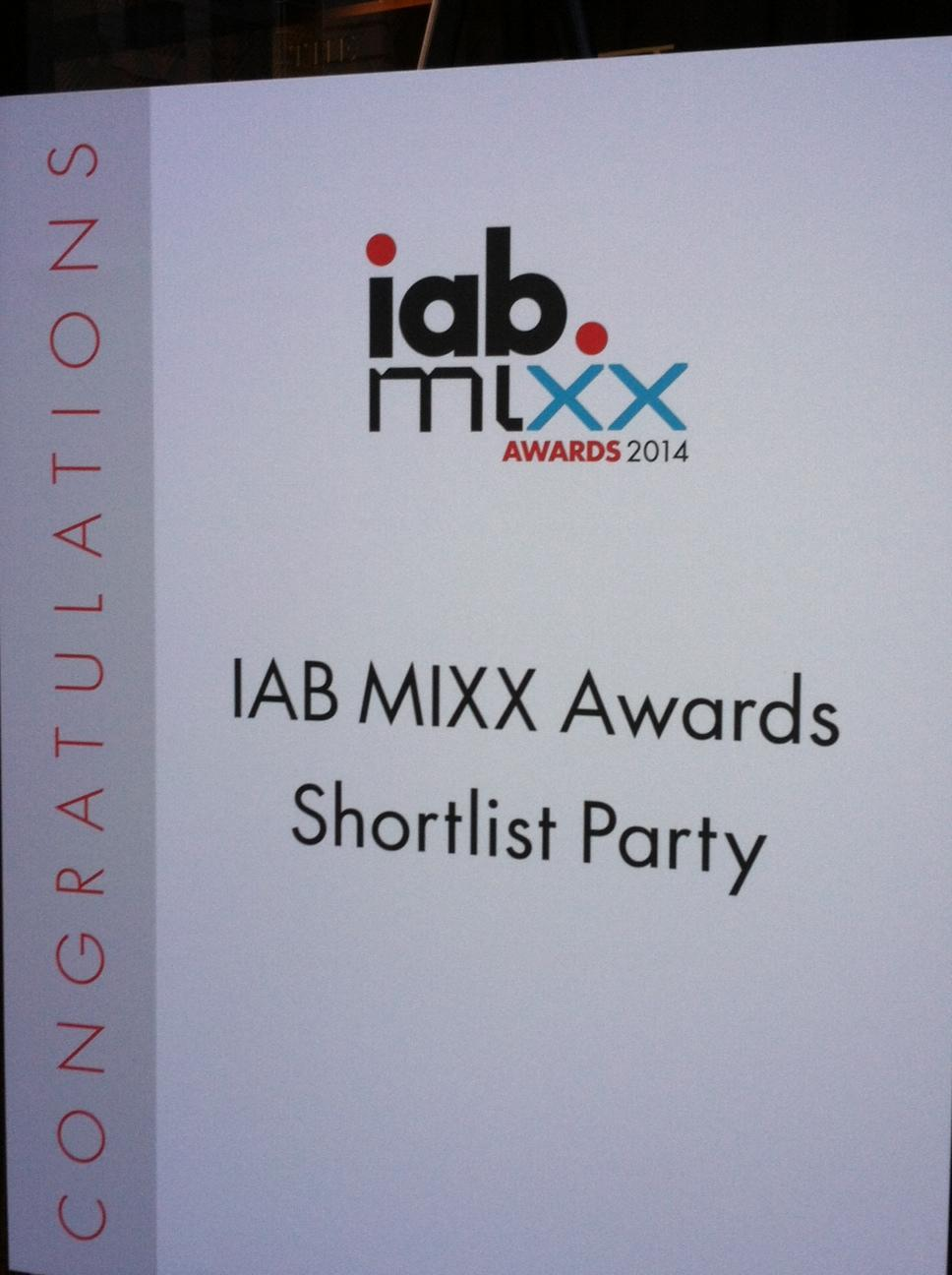 UM & #J3 have been shortlisted for the IAB @mixxawards! Campaigns for @Chrysler, @JNJNews & @SonyPictures. http://t.co/Dea8A53bUC