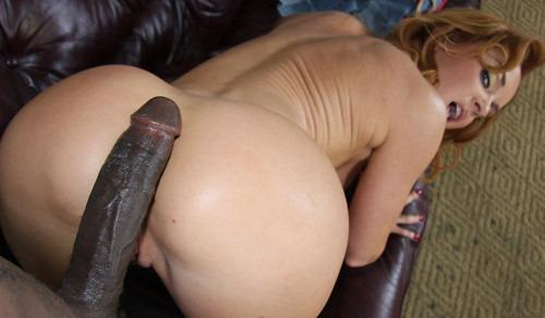 White Ass On Black Cock