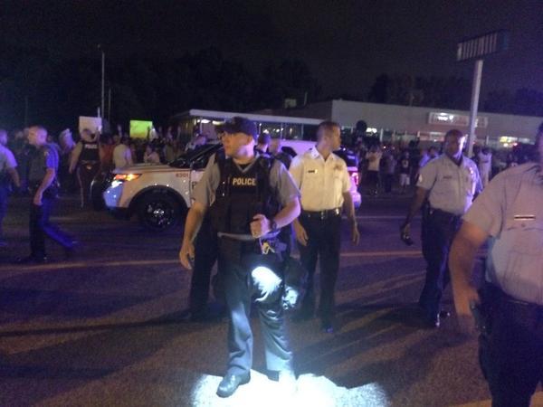 Pro Darren Wilson protester attacked in Ferguson