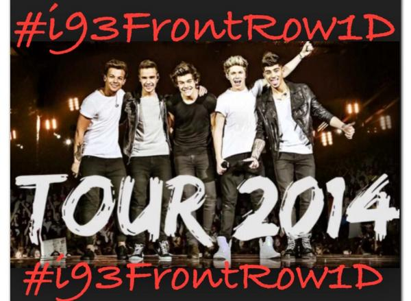 #i93FrontRow1D #WelcomeToTexas1D Get #i93FrontRow1D trending Dallas and unlock how to win FRONT ROW tix @onedirection http://t.co/KU0mewrhFj