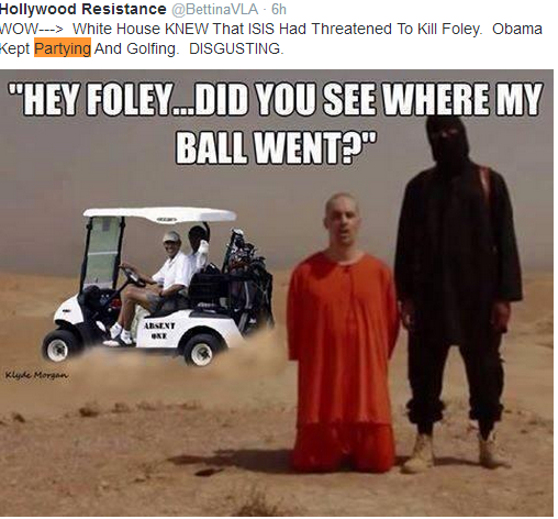 Pope Francis calls family of James Foley while Obama golfs