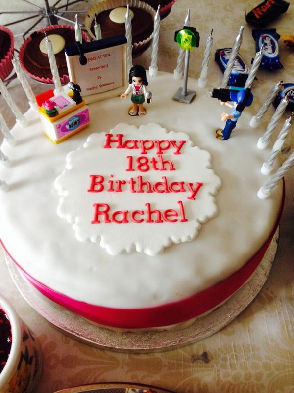 Rachel Williams On Twitter My 18th Birthday Cake Yesterday Cant