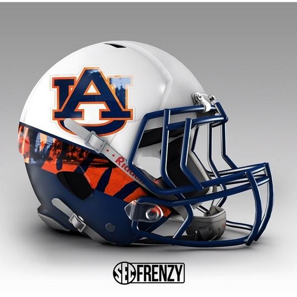 ea3b8d6262a Best and Worst SEC Custom and Concept Helmets | uniform channel
