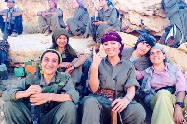 Crack unit of #Kurdish female soldiers hunting Islamic State kidnappers  http://t.co/RWMbFRCOY5 ht @faineg #ISIS http://t.co/eo6VuUCNhb