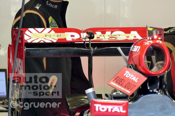 Gp Spa: ecco la versione di ala posteriore della Lotus
