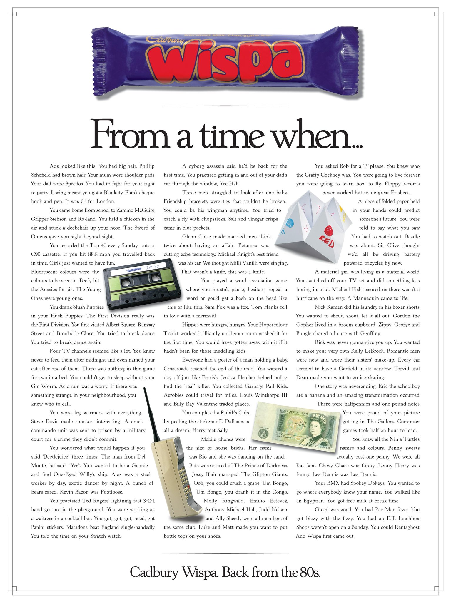 RT @ReadMeLKP: Featured in the book: wonderful ad for @CadburyUK by @PublicisLondon. Demonstrates great subject knowledge. http://t.co/wuw6…