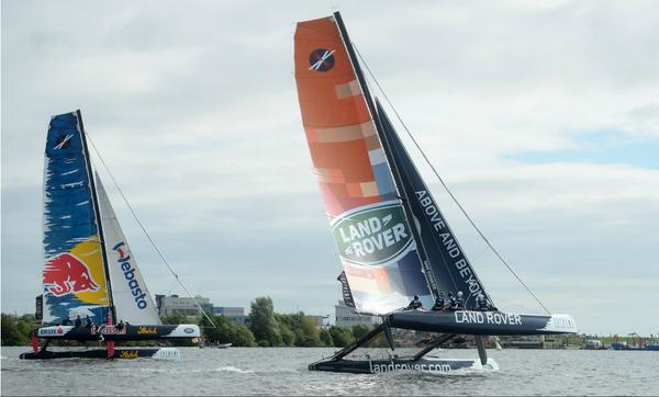 Are you excited for the global, @extremesailing series to dock into Cardiff Bay this weekend? Sailing runs till Mon! http://t.co/vzdcIouERN
