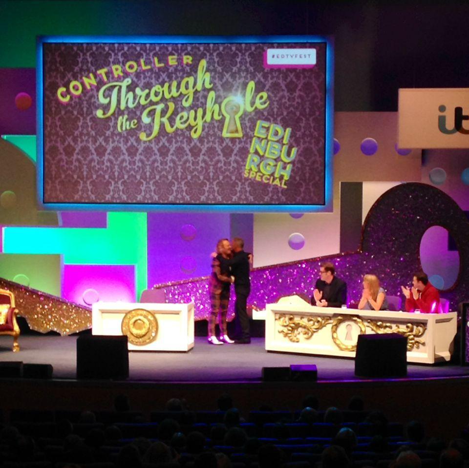 RT @EdinburghTVFest: The first keyhole iiiiisss.... ITV's Peter Fincham! #edtvfest #throughthekeyhole http://t.co/3vYXr3QAzt