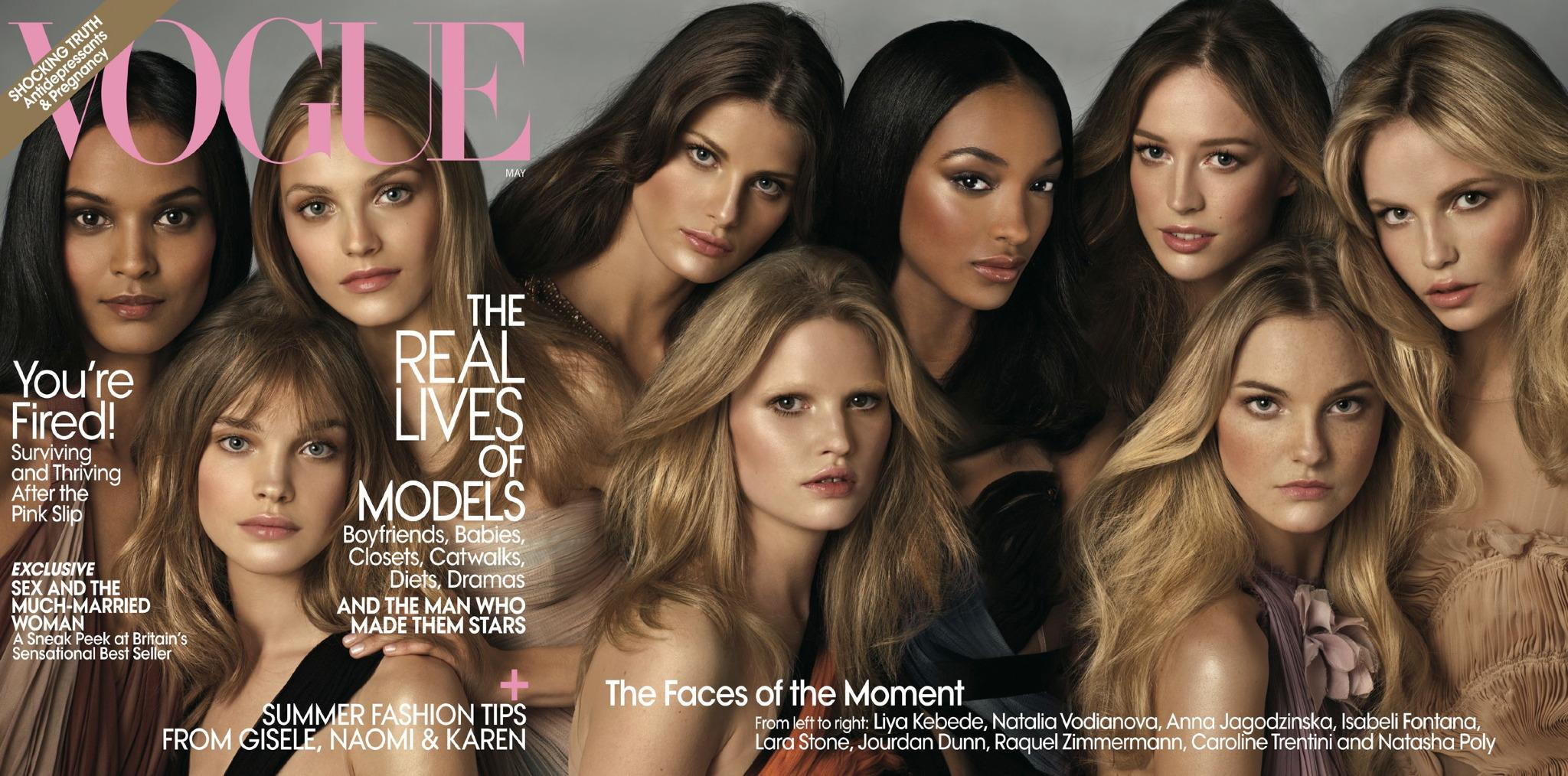 RT @voguemagazine: The gang's all here! A history of the supermodel group Vogue cover: http://t.co/5cWTdXgLLb Photo: Steven Meisel http://t…