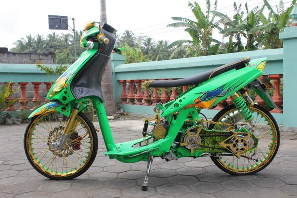 ide modifikasi mio street racing