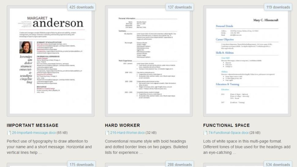 lifehacker on twitter   u0026quot download 275 free resume templates