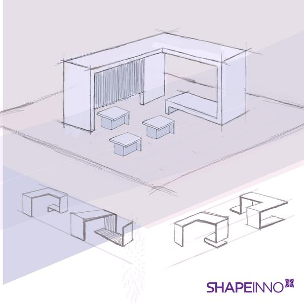 Exhibition Stand Sketch : Best exhibition sketch images in exhibition stall design