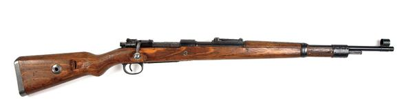 Today's #tbt is an icon, the K98 Mauser. This rifle is a benchmark for bolt-action rifles like the 1903 Springfield. http://t.co/tnPsQZSYAP