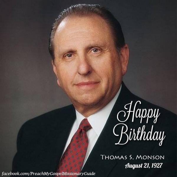 Happy birthday President Monson! Does the world know it's the birthday of a prophet of God? #lds #twitterstake http://t.co/9N9CKUvx10