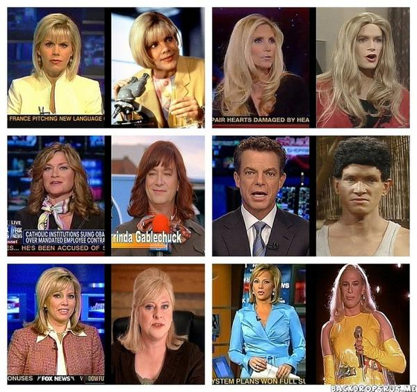 Awesome. RT @theyshootactors: Fox News reporters and their Kids in the Hall equivalents. http://t.co/7UcsENU3B6