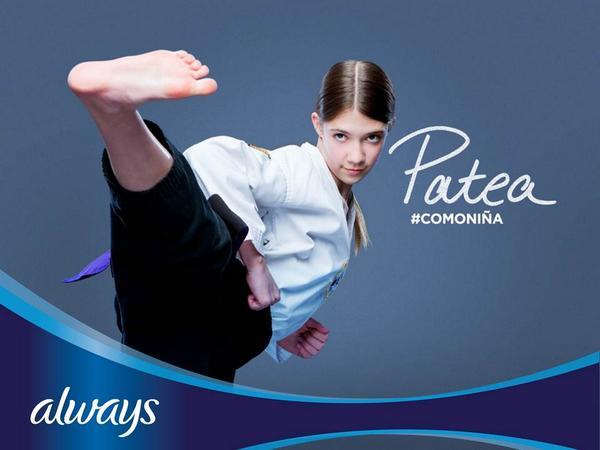 ¿Te animas a cambiar el significado de la frase #ComoNiña? Comparte este video: http://t.co/yTRZZNb6ao http://t.co/qGhgTZ7LK1