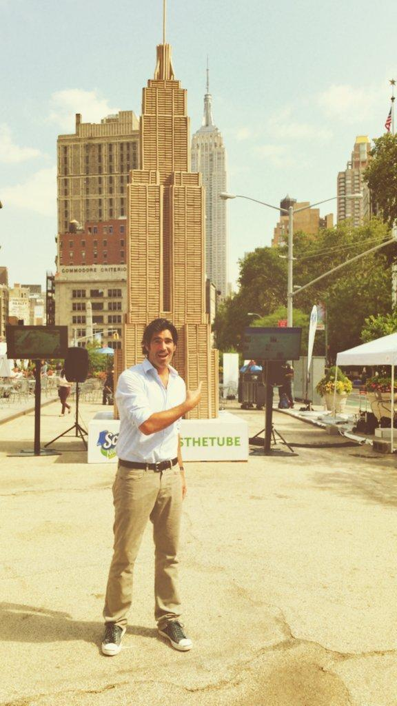 The 17 billion TP tubes wasted annually could fill the @EmpireStateBldg twice! #TossTheTube w/@ScottProducts http://t.co/p3m8XXSghN