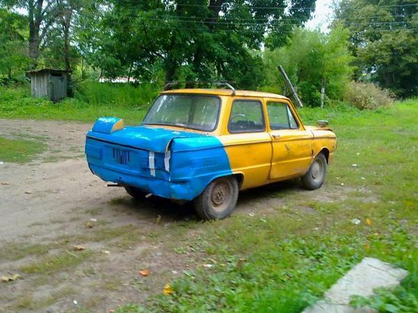 В Москве покрасили в сине-желтые цвета вышку ЛЭП, - СМИ - Цензор.НЕТ 7390