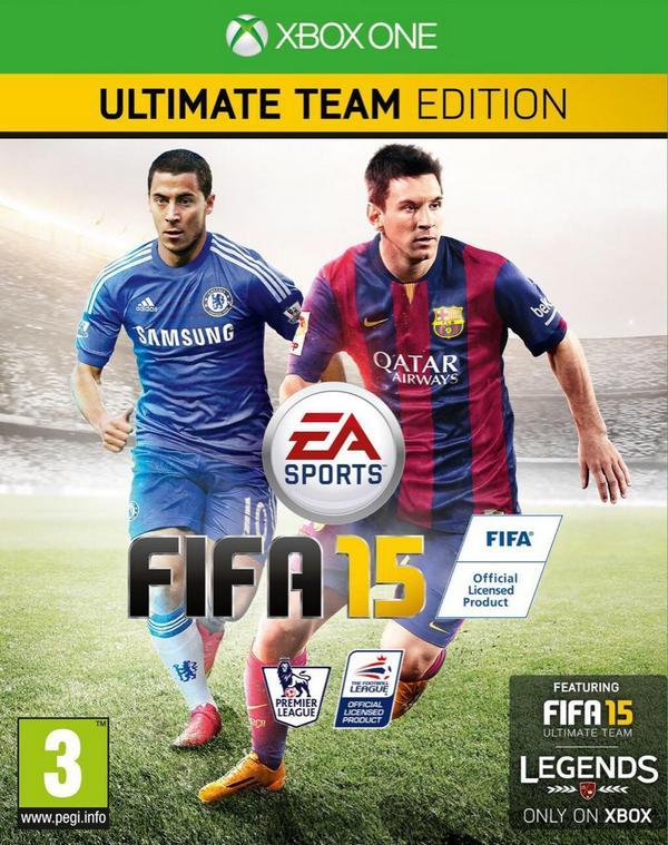 Fifa 15 - Magazine cover