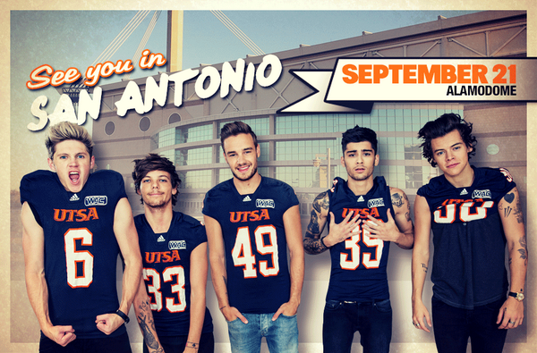@onedirection - One Month Away! Hope to see you @Alamodome. http://t.co/HEWa4BkOBj