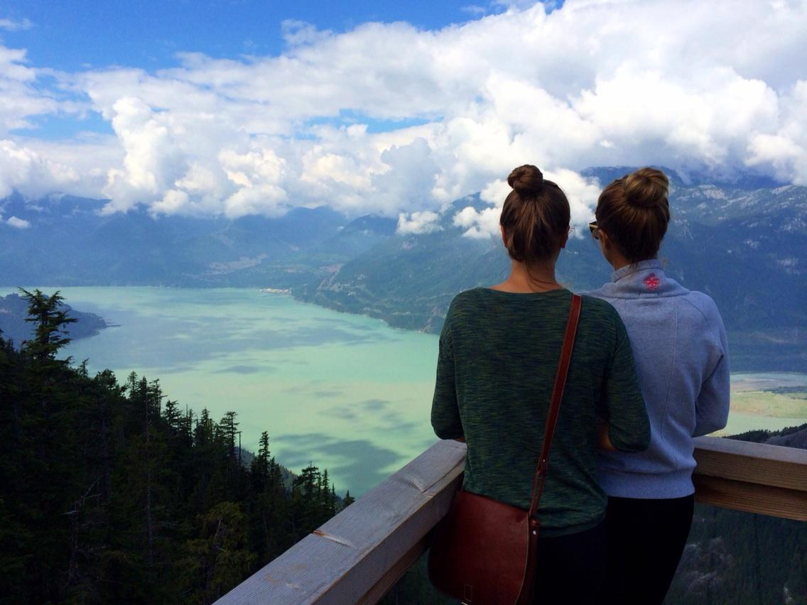 Casual afternoon in BC with my sister @ Sea to Sky British Columbia http://t.co/TwUSvqZilq