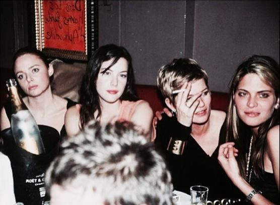 Back in the day! Me, Liv, Kate and Frankie... The original crew! Funny! x Stella http://t.co/Enk5PjO8eu