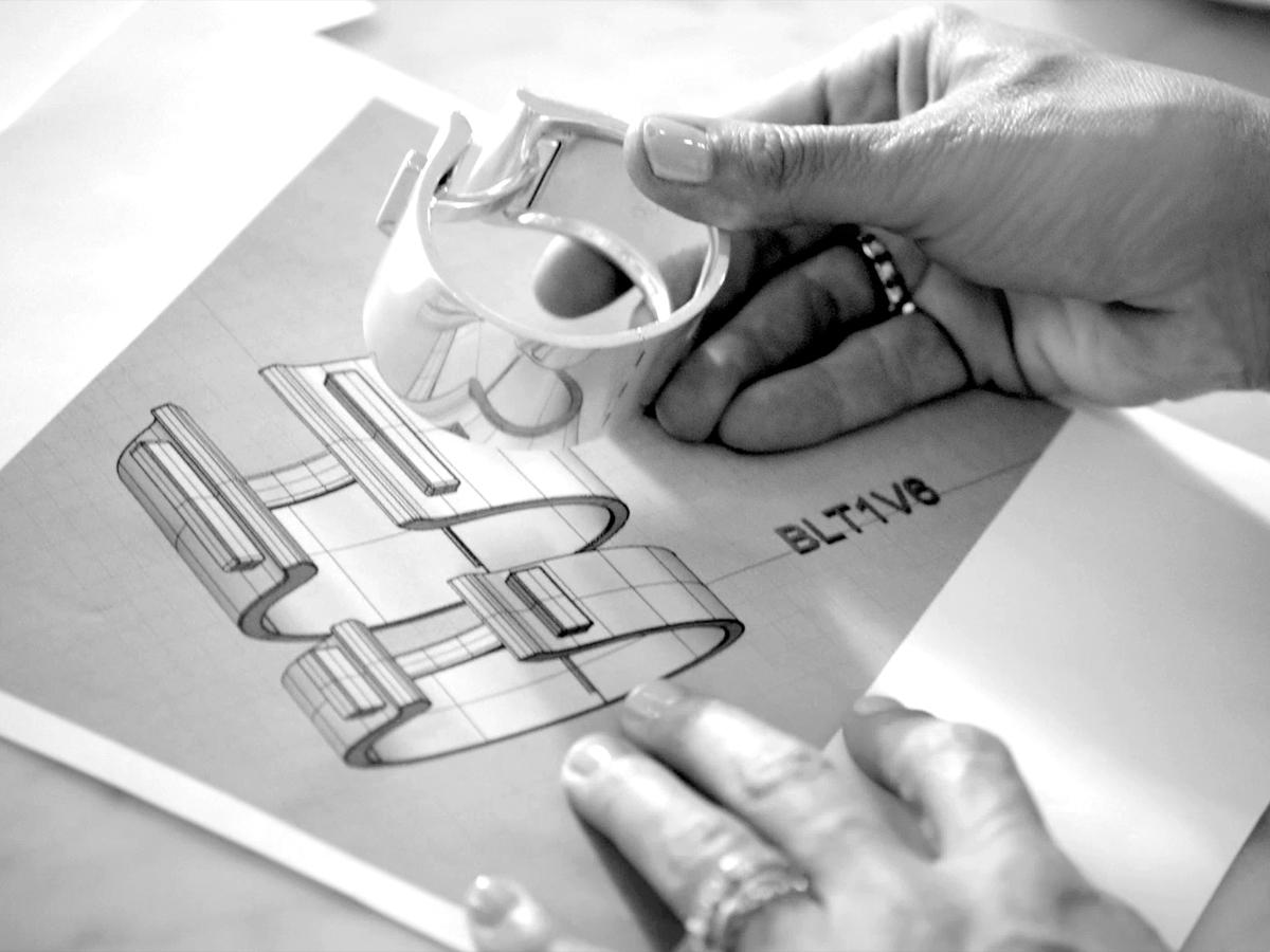 A sketch of #TiffanyT by our design director. http://t.co/FIQdvfo3kw