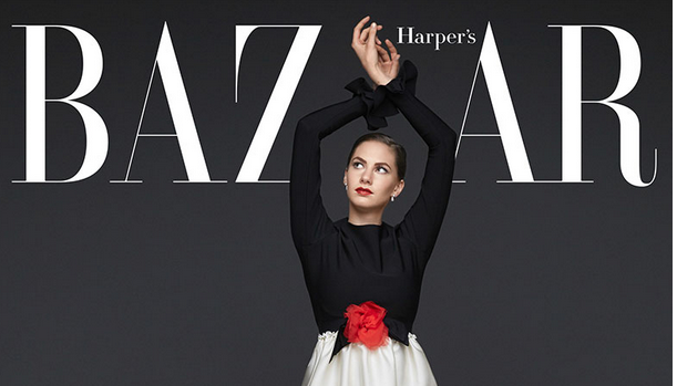 This is amazing! Audrey Hepburn's granddaughter covers @harpersbazaarus: http://t.co/A0hjvbrUTG http://t.co/2ljWvz8VeU