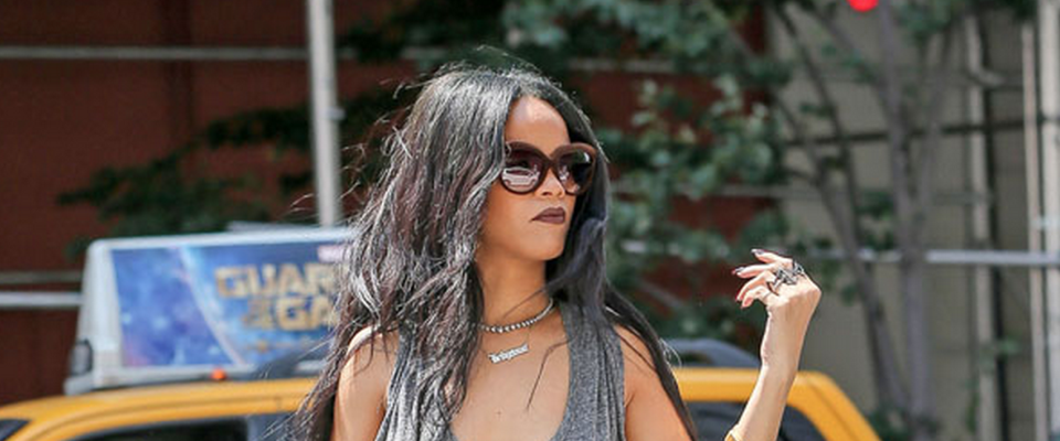 The first outfit we've EVER seen Rihanna wear that is completely office-appropriate http://t.co/OHZrEimcL4 http://t.co/4PTRifBOUg
