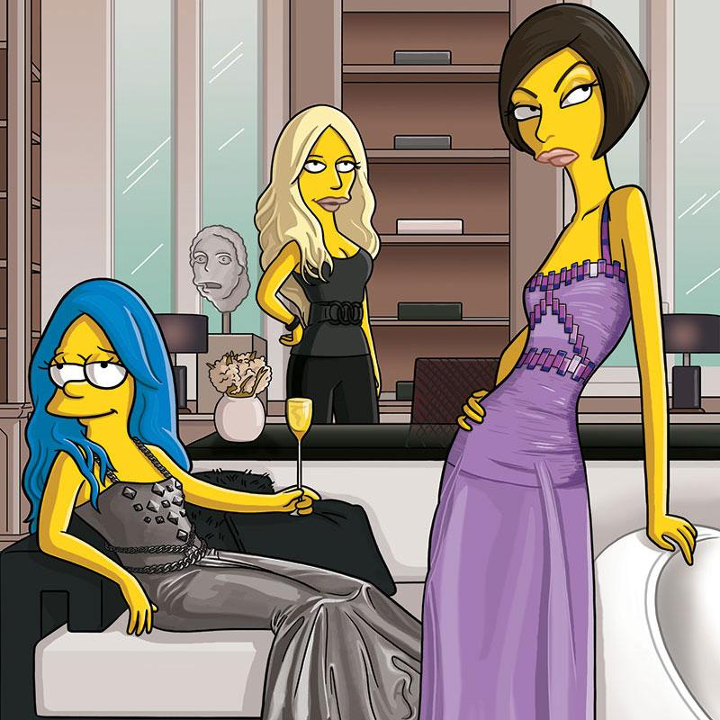 #TBT to when @TheSimpsons joined Linda Evangelista in Paris: http://t.co/jz0GBLV5Zo #everysimpsonsever http://t.co/jfTDp7s713