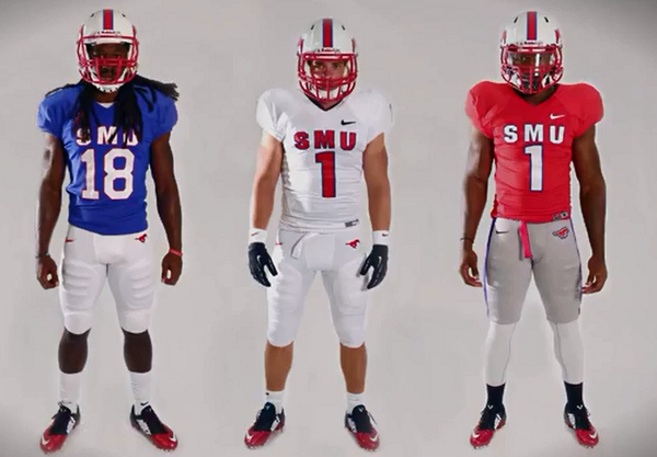 "c7991f689 Gorgeous "" PhilHecken  New SMU uniforms for 2014 pic.twitter.com jWO1SqOjoR"""