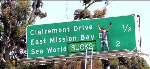 """""""Jackass"""" star Steve-O is claiming responsibility for a prank on a freeway sign in San Diego http://t.co/ocbAgUjpSi http://t.co/RLF7kvqUQC"""