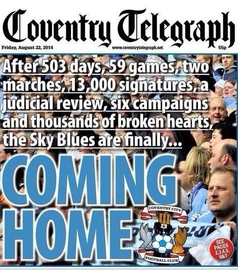 Tomorrow's Coventry Telegraph: http://t.co/IDObq86I5D