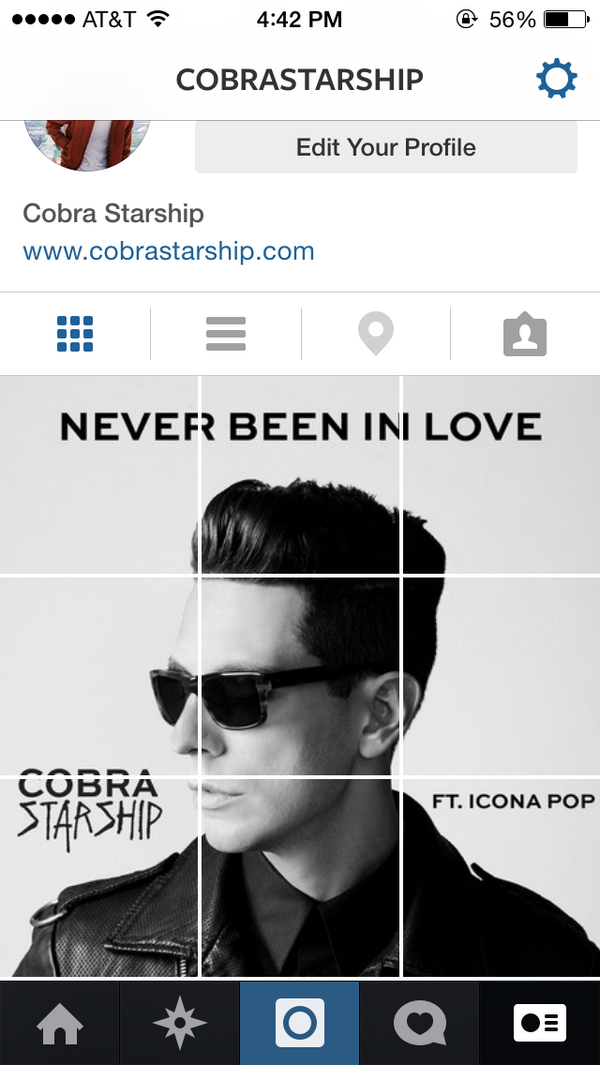 "Cobras made a thing.  New single ""Never Been in Love"" feat. @IconaPop out 8/25! #DCD2"