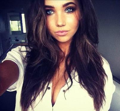 most beautiful girl blue - photo #38