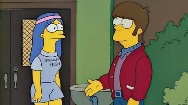 I'll never forget the day I first met Marge in High School.  It was in 1974... or 1997. One of those! http://t.co/lE12jq8TBP