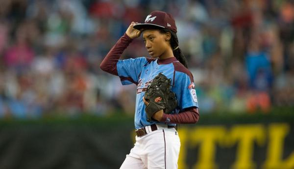 We tip our hat to you, Mo'ne Davis, and the entire Taney Baseball team. Congratulations on an incredible run! http://t.co/lDCUGOQGZj